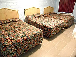 Room with 3 Full Size Beds